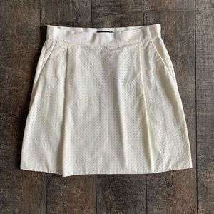 Kate Spade Saturday Perforated A-Line Mini Skirt